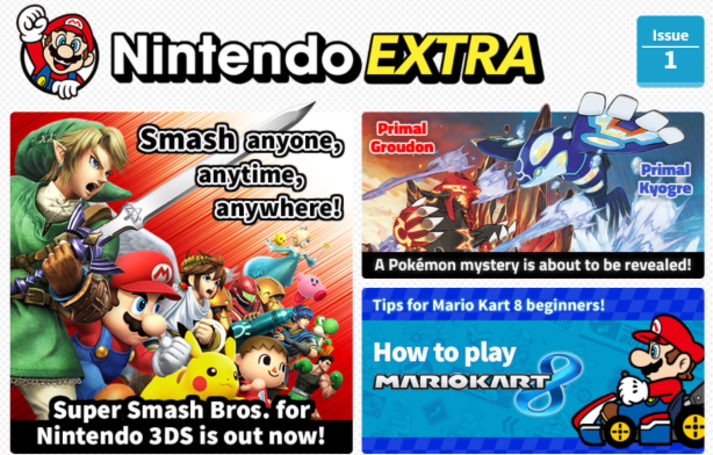 Nintendo UK launches digital magazine, Nintendo Extra