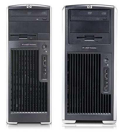 HP stuffing Penryn chips into xw8600 / xw6600 workstations