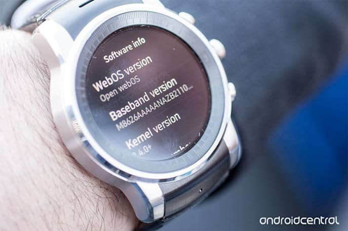 Audi's smartwatch collaboration with LG isn't running Android Wear