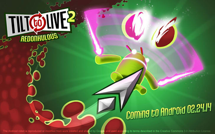 Tilt to Live 2 finds new life on Android February 24