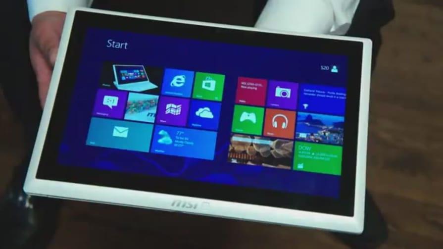 MSI S20 Slidebook Windows 8 Convertible Ultrabook Hands-on
