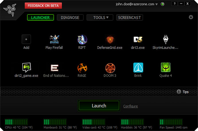 Razer Game Booster enters closed beta, ready to fine tune your rig (video)