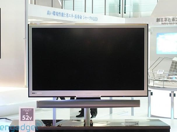 Sharp's AQUOS LC-65XS1U-S and LC-52XS1U-S HDTVs get priced