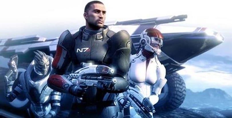 Mass Effect premieres at No. 3 spot in Japan