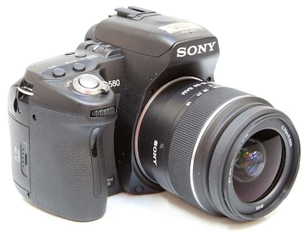 Sony A580 reviewed: 16.2 megapixels of mid-range DSLR goodness