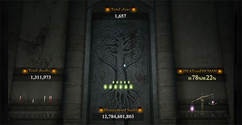 Dark Souls 2 mortality counter tallies 4.3 million deaths