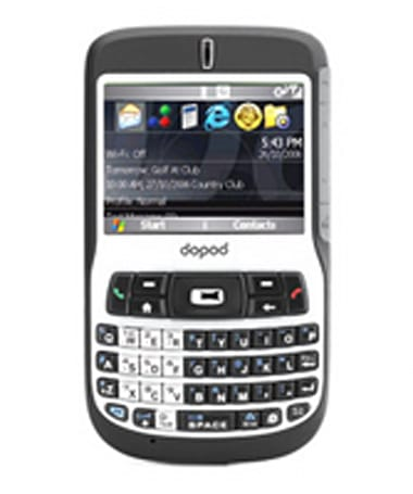 Dopod's C720W curiously left out of WM6 upgrade plans
