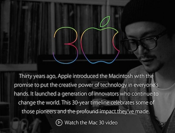 Apple.com, Mac App Store celebrates 30 years of the Mac, and more news for January 24