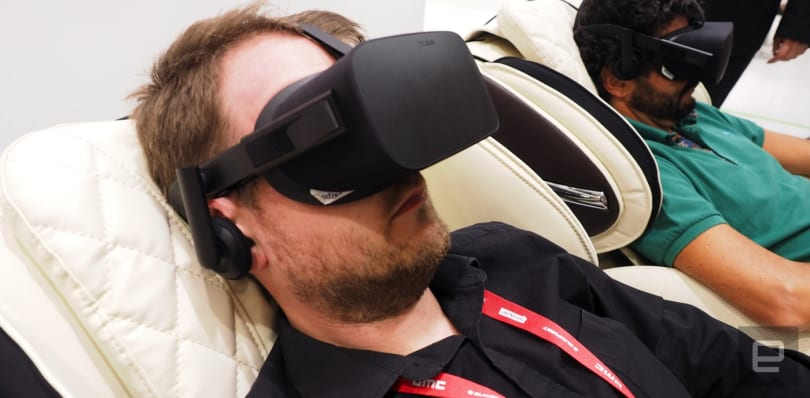 A VR massage chair made me both happy and sad