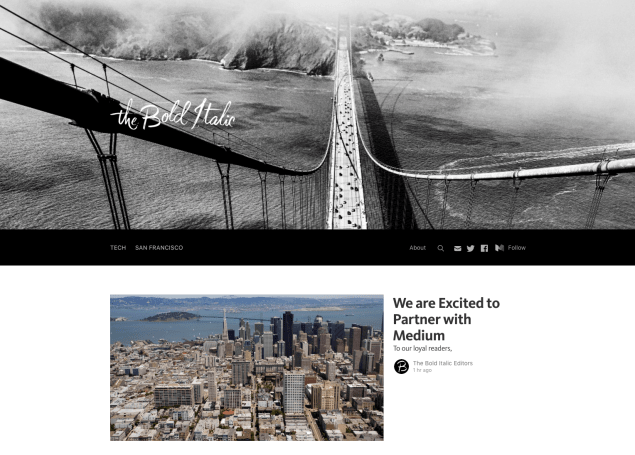 Medium attracts The Awl and other influential publishers