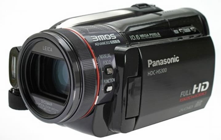 Panasonic's HDC-HS300 HD camcorder reviewed, thoroughly enjoyed