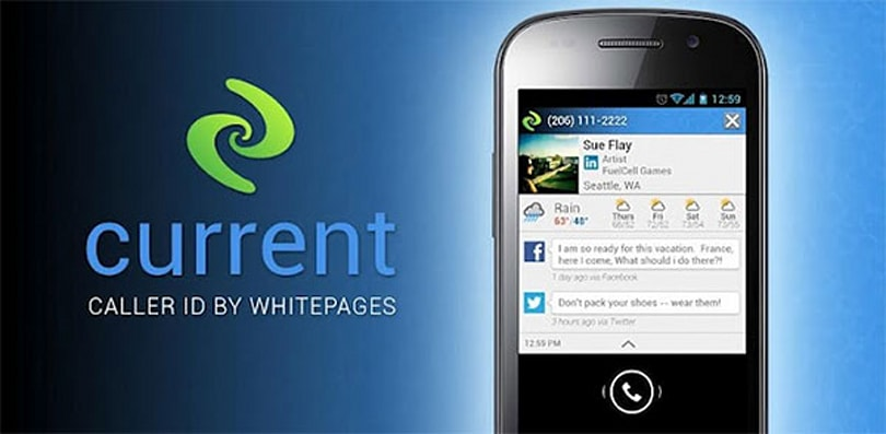 Current Caller ID app adds social info, weather details, suggests a good time to ring back