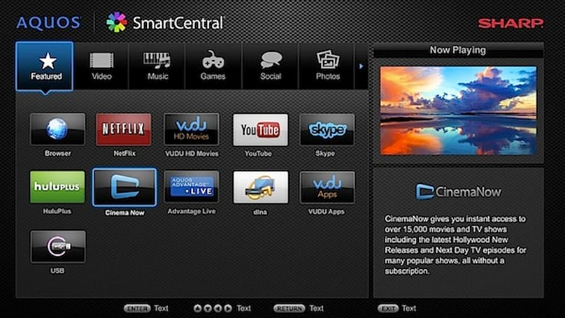 Sharp's bigger and better HDTVs for 2012 start hitting store shelves