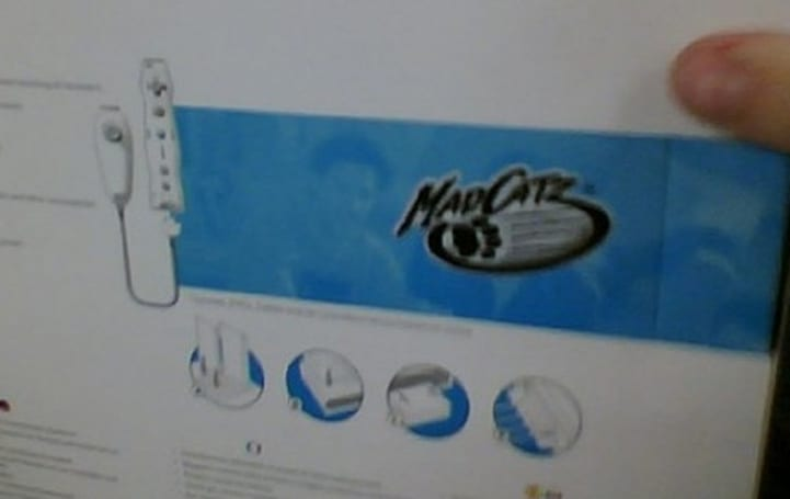 """Release dates emerge for Mad Catz Wiimote and """"Funchuk"""""""