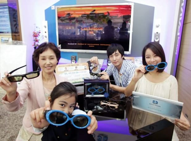 Samsung studies 3D viewing discomfort, finds out bloggers don't read