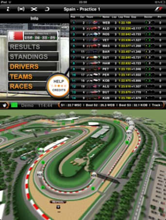 Free and paid apps for Formula 1 racing fans adding features for the 2011 season