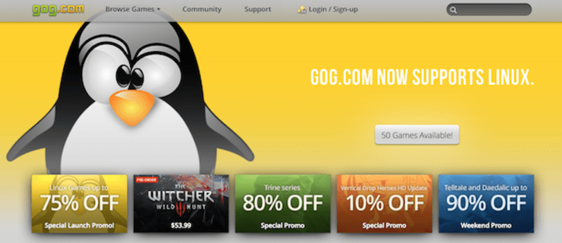 Good Old Games glitch gave away free games in Linux sale