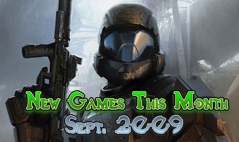 New Games This Month: September 2009