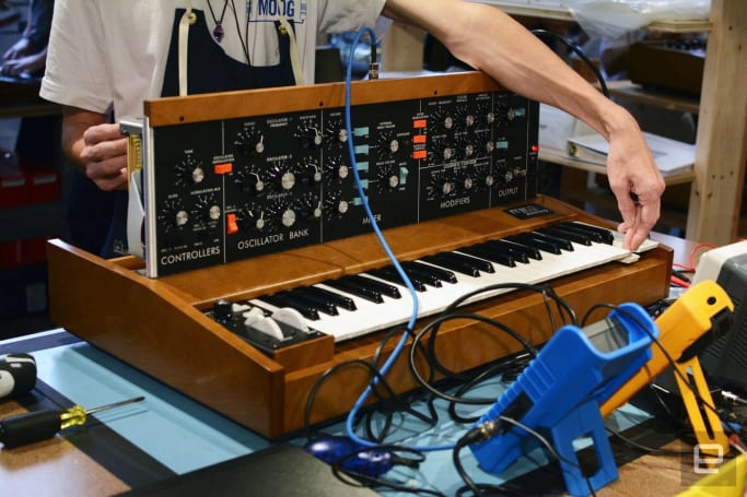 Moog's Minimoog Model D back in full production after 30 years