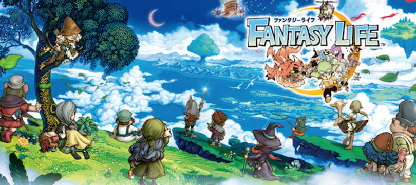 Level-5 RPG Fantasy Life coming to 3DS