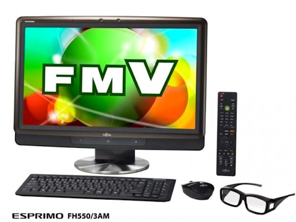 Fujitsu's FMV PC series of 3D desktops hits Japan this month