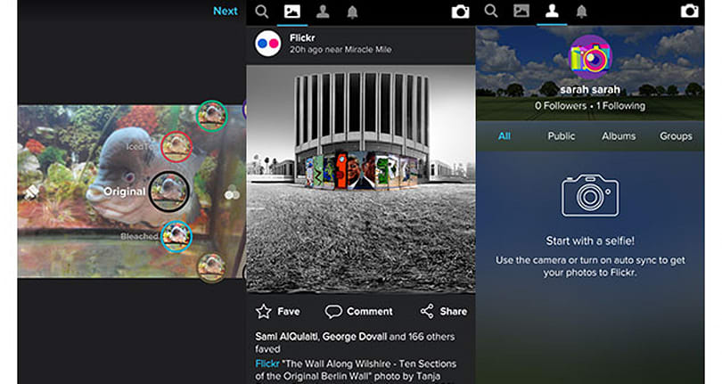 Flickr wants to become your new Instagram with its latest app update