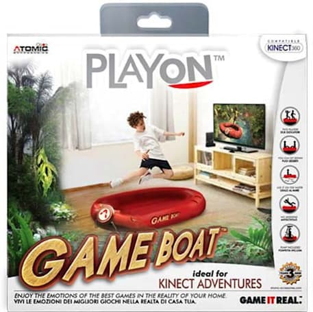 Game Boat 'accessory' ideal for Kinect Adventures, perfect for the reality of your home