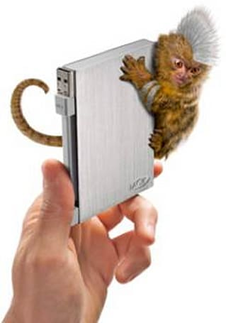 LaCie Rikiki Go external HDD features 1TB storage, new and improved monkey