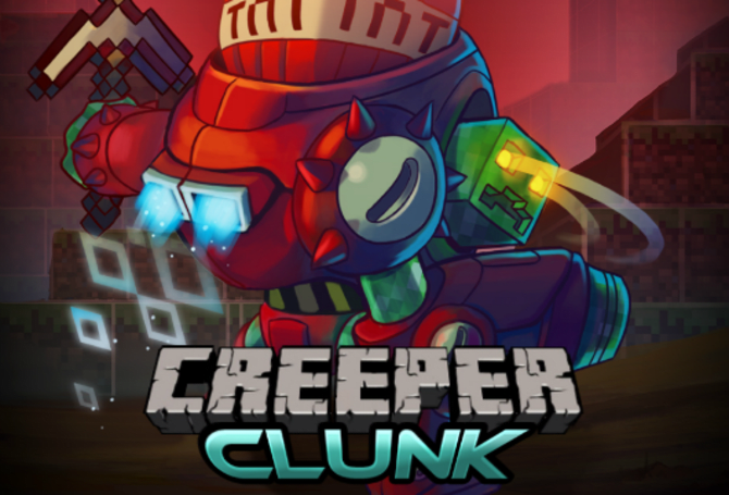 Minecraft Creepers (sorta) invade Awesomenauts