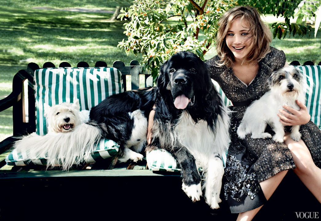 Jennifer Lawrence looks amazing in the coveted September Vogue issue