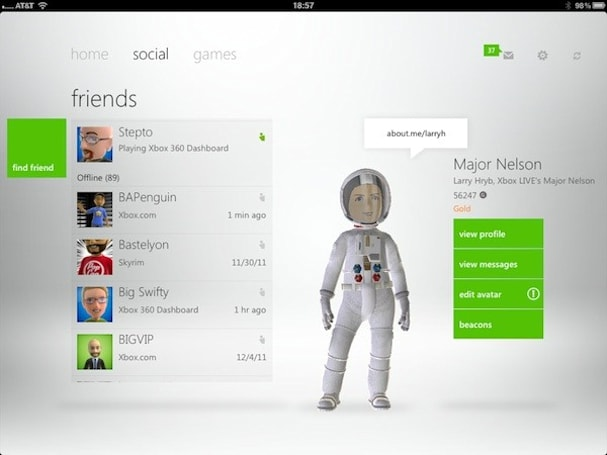 Xbox Live companion apps now available for Windows Phone and iOS