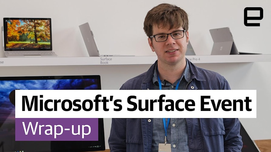 Microsoft's Surface Event Wrap-up