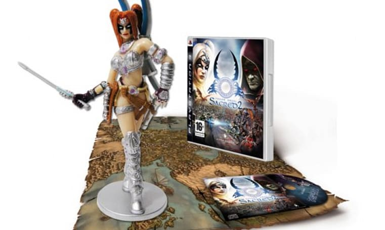 Sacred 2: Fallen Angel CE is all about the mini-figure