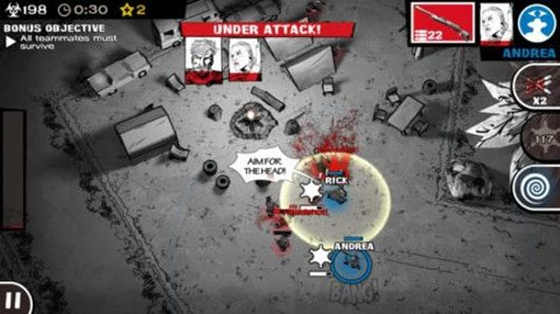 Portabliss: The Walking Dead: Assault (iOS)