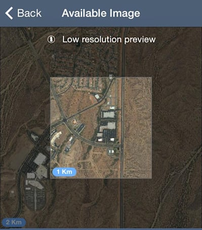 SpyMeSat iOS app now lets you buy hi-resolution satellite images