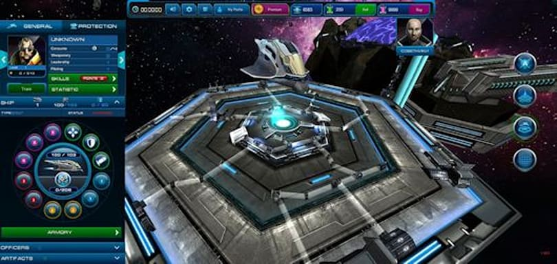 Sci-fi MMORTS Astro Lords: Oort Cloud arrives in July