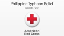 Apple begins collecting Philippine typhoon donations for the American Red Cross