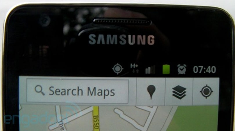 Samsung Galaxy S II GPS -- it works, it really works! (video)