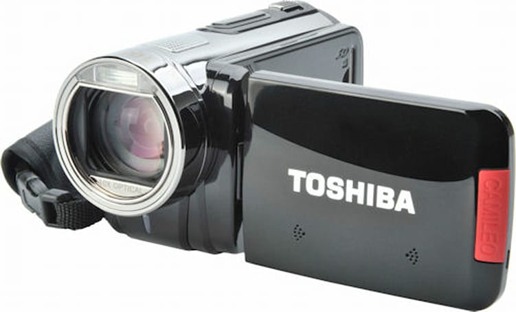 Toshiba Camileo S20, H30, and X100 HD camcorders finally available in US