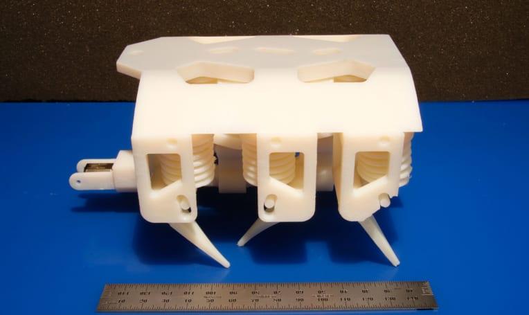MIT 3D prints a complete walking robot