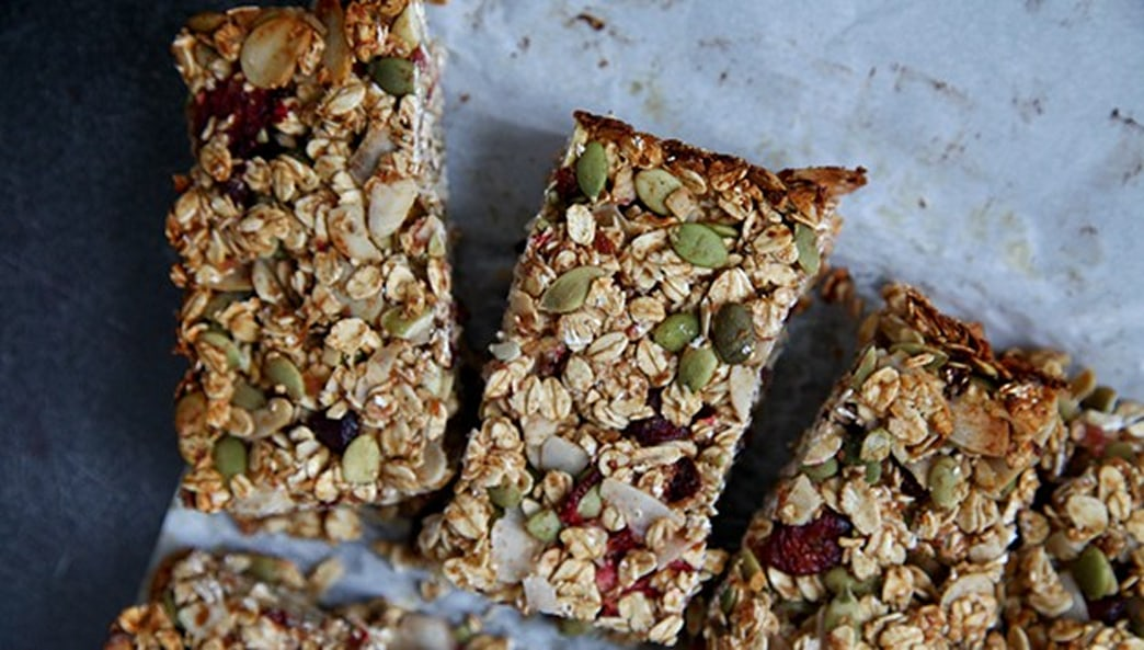 Make this: Healthy homemade granola bars