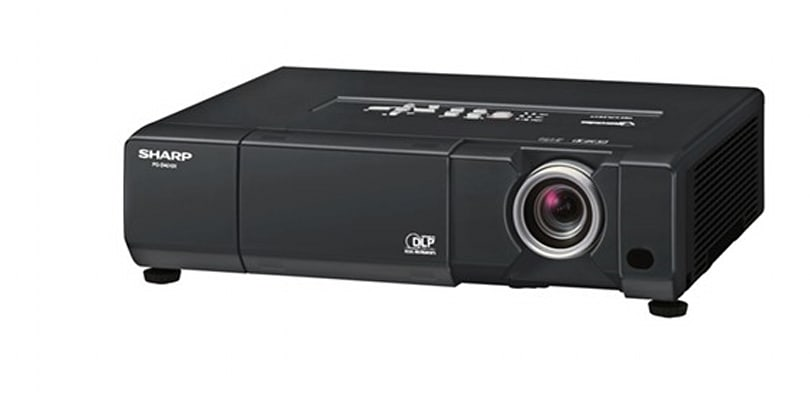 Sharp shows off the XV-Z15000 1080p projector