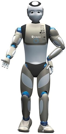 Meet Romeo, grandma's new french robot lover