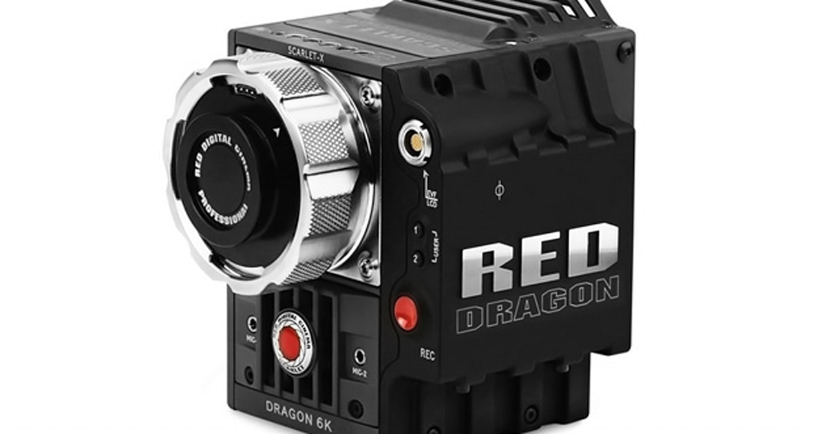 Red S 6k Capable Scarlet Dragon Camera Goes On Sale For A