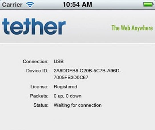 iTether app skirts carrier tethering plans, sets up shop in iOS App Store