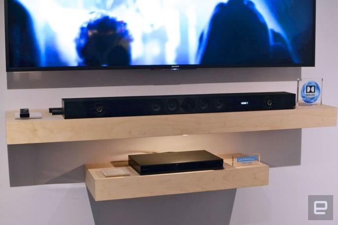 Sony's flagship soundbar kicks out room-filling audio