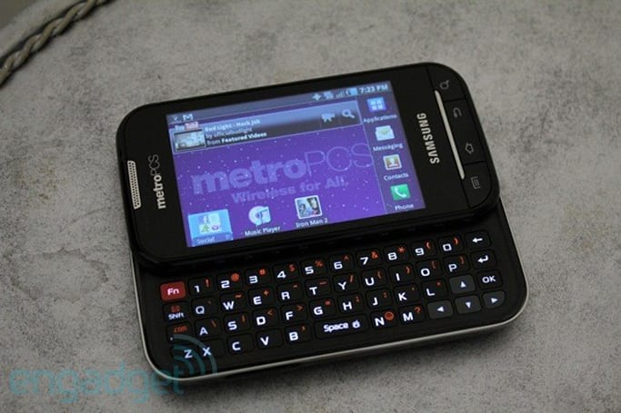 MetroPCS LTE Samsung Galaxy Indulge available this week, we go hands-on