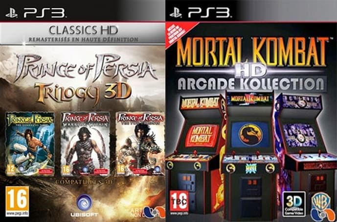 Report: Prince of Persia, Mortal Kombat HD box art revealed; several HD collections incoming