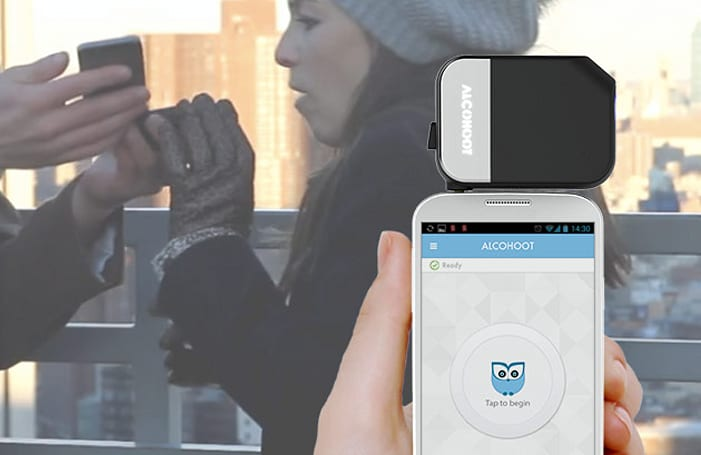 Alcohoot smartphone breathalyzer shipping now for $119