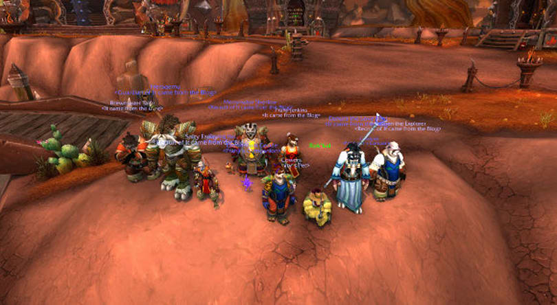 It came from the Blog: Random dungeon groups LFM again